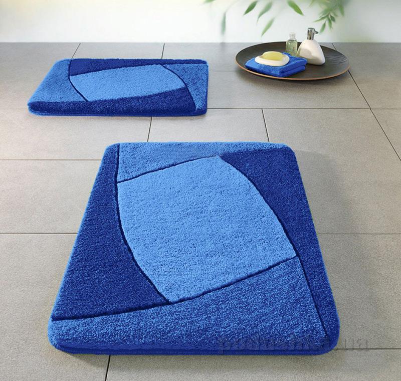 Коврик для ванной Spirella Focus синий