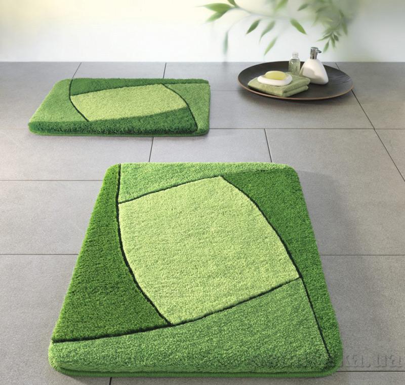 Коврик для ванной Spirella Focus зеленый