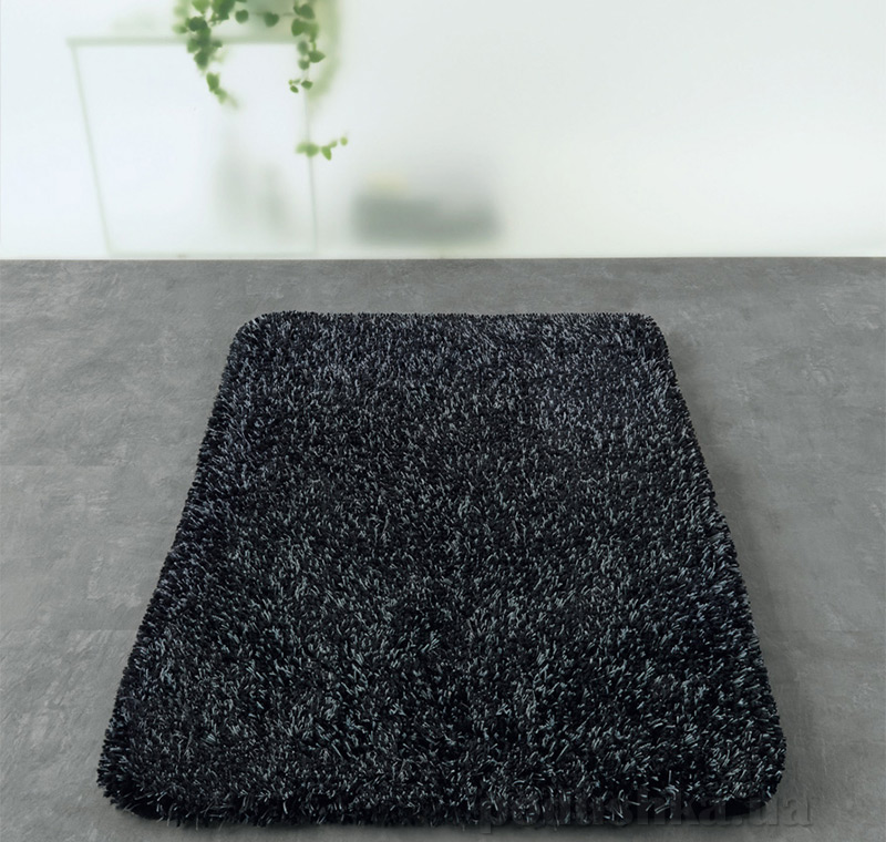 Коврик для ванной Spirella Mix черный