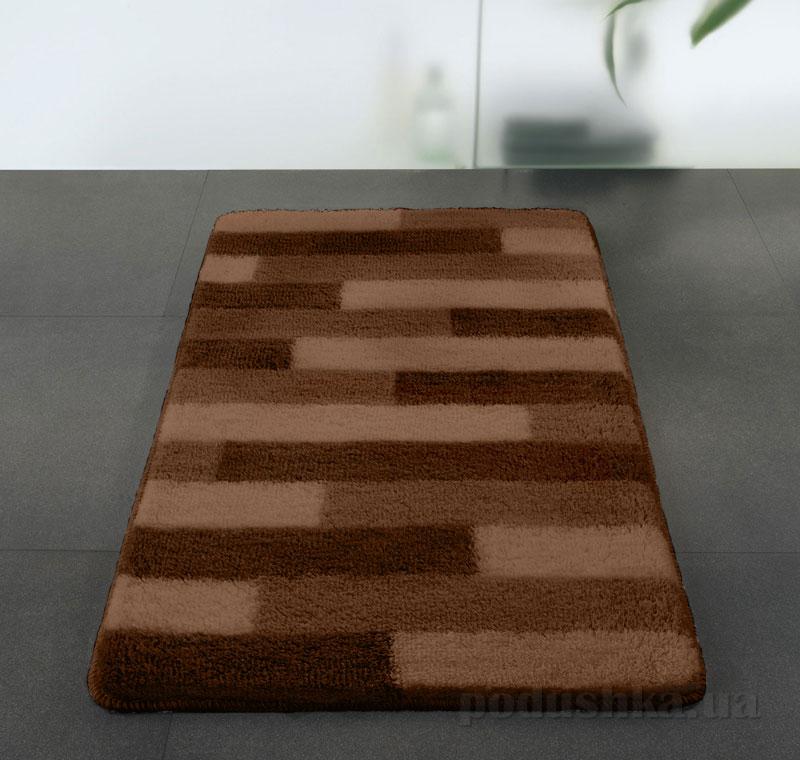 Коврик для ванной Spirella Plank коричневый