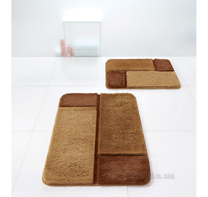 Коврик для ванной Spirella Unit коричневый