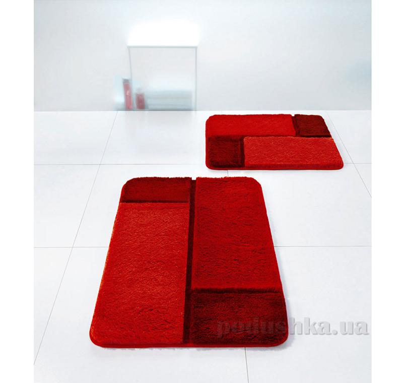 Коврик для ванной Spirella Unit красный