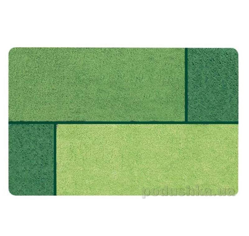 Коврик для ванной Spirella Unit зеленый