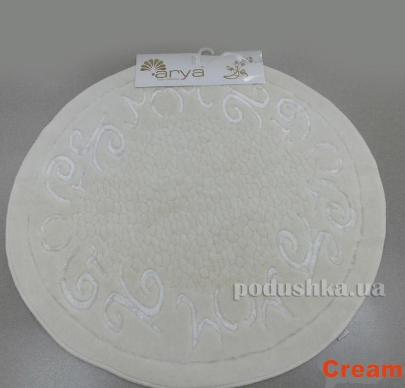 Коврик кремовый для ванной комнаты Berceste Arya 1380027