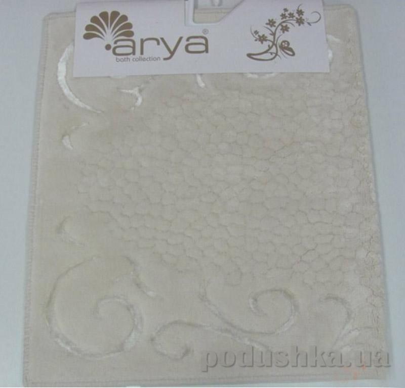 Коврик кремовый для ванной комнаты Beysehir Arya 1380047