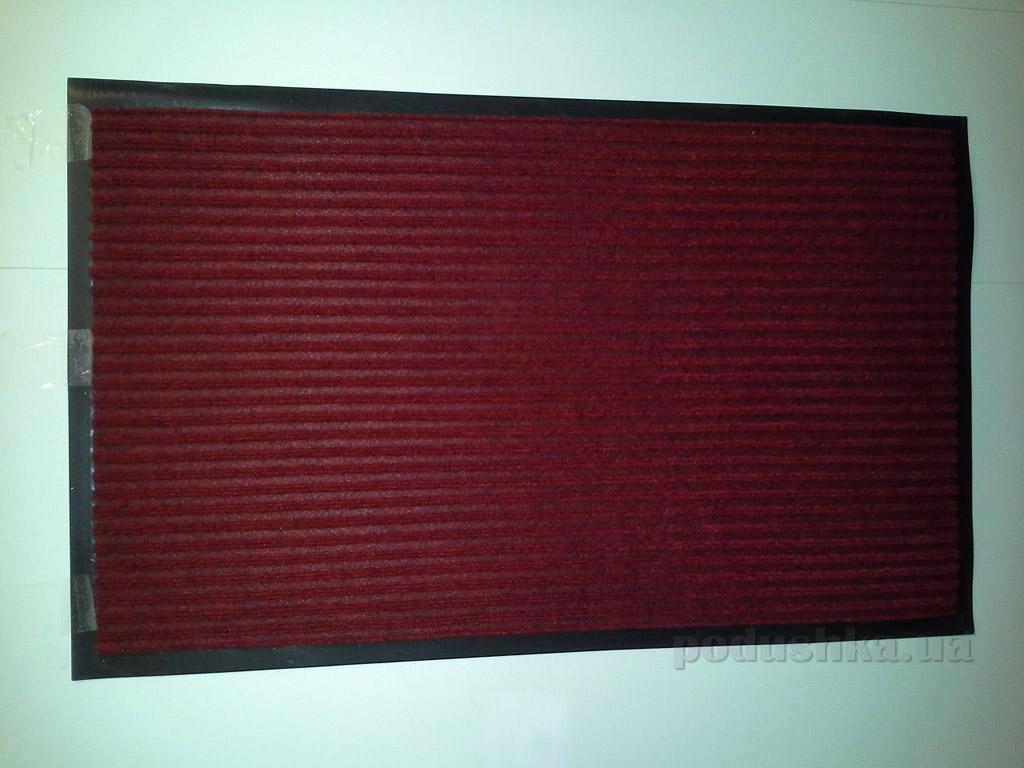 Коврик придверный Ковротекс 3G-U650G красный