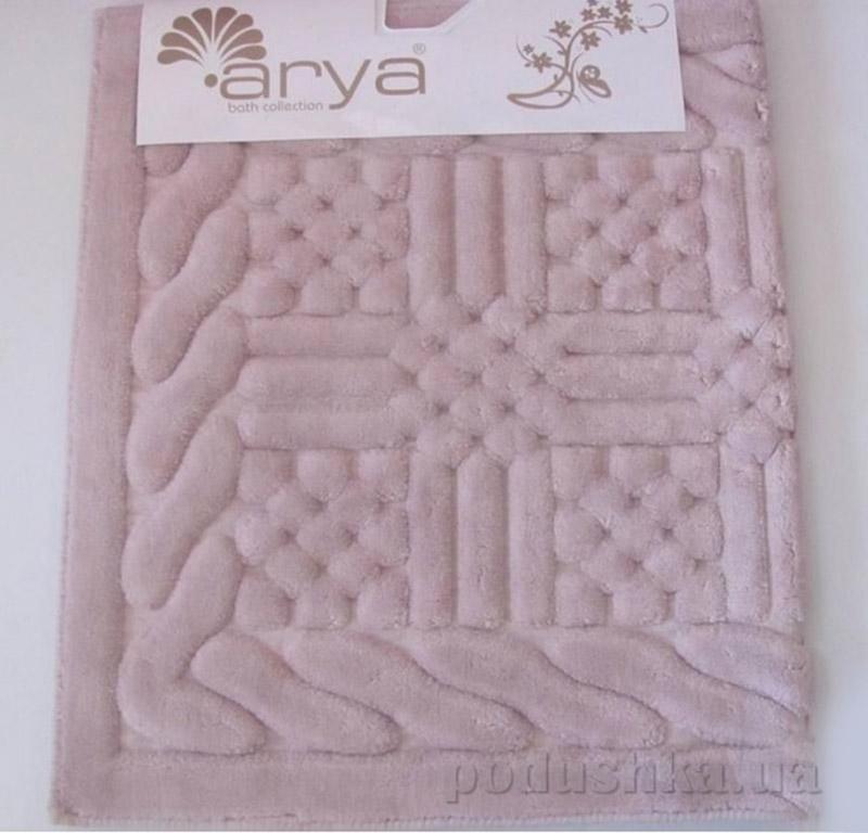 Коврик розовый для ванной комнаты Berceste Arya 1380046