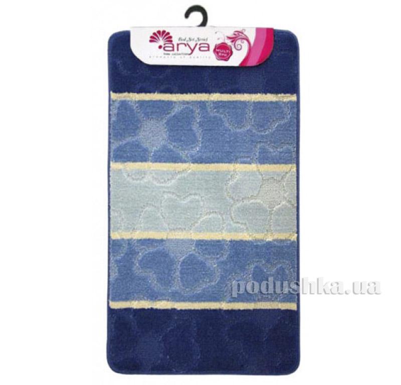 Комплект синих ковриков для ванной комнаты Multi Arya 1380081
