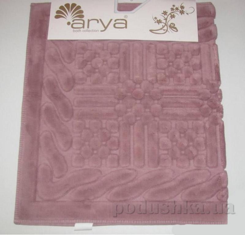 Коврик темно-розовый для ванной комнаты Berceste Arya 1380046