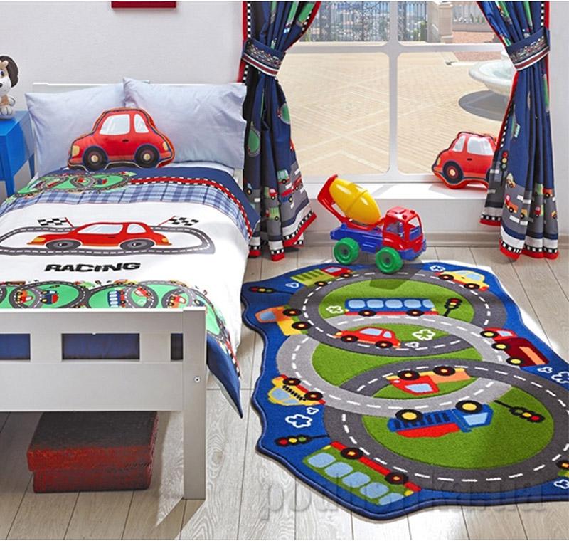 Коврик в детскую комнату Confetti Circle Track 2683