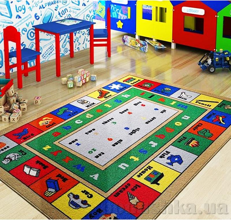 Коврик в детскую комнату Confetti Lesson 2685