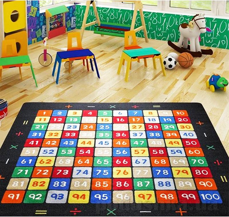 Коврик в детскую комнату Confetti Mathematics 2690