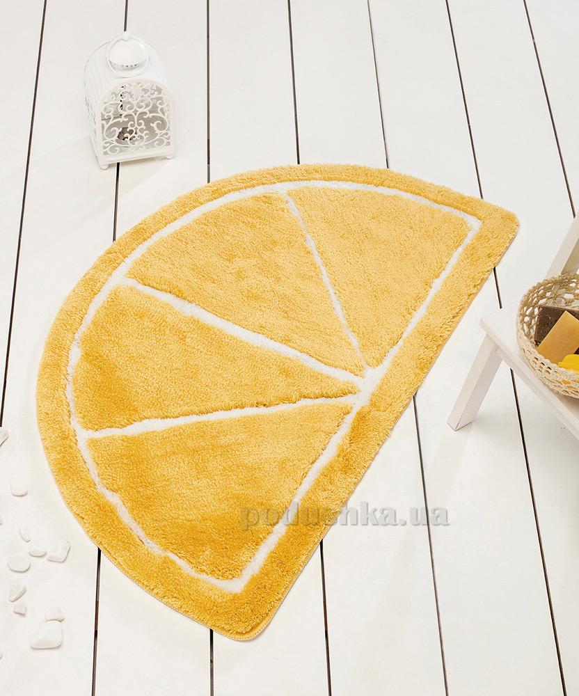 Коврик в ванную Chilai Home Limon yellow