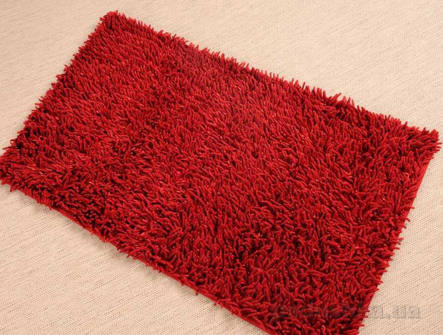 Коврик в ванную Irya Intence micro красный