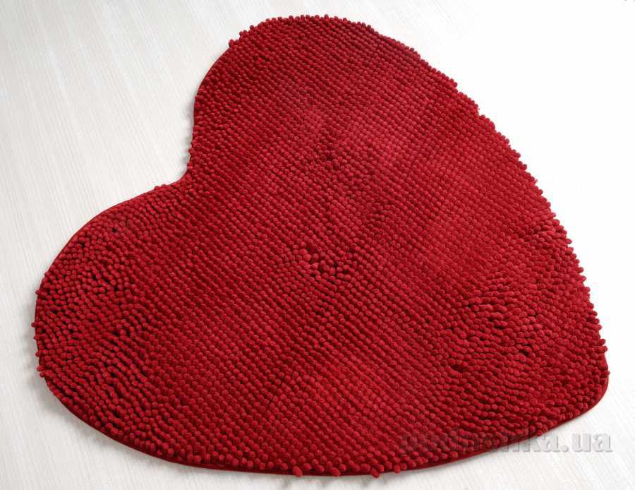 Коврик в ванную Irya Lovely красный