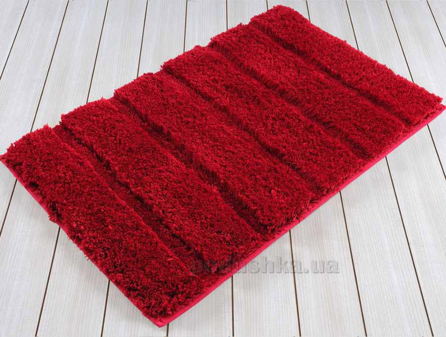 Коврик в ванную Irya Premium красный