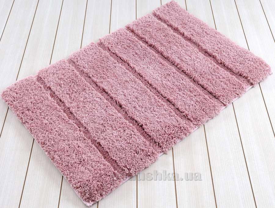 Коврик в ванную Irya Premium темно-розовый