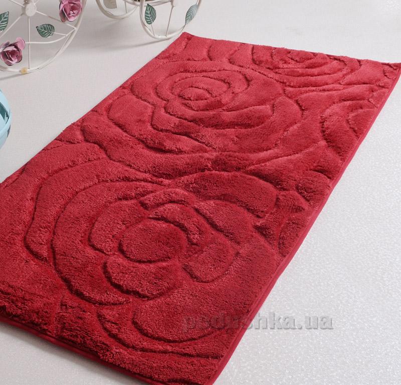 Коврик в ванную Irya Pretty красный