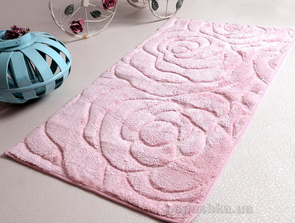 Коврик в ванную Irya Pretty розовый