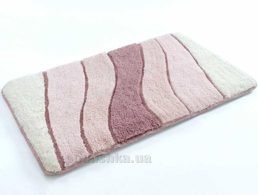 Коврик в ванную Irya Wave розовый