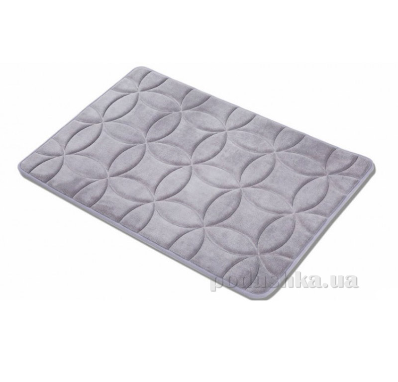 Коврик в ванную комнату Arya TR1001626 Krit серый