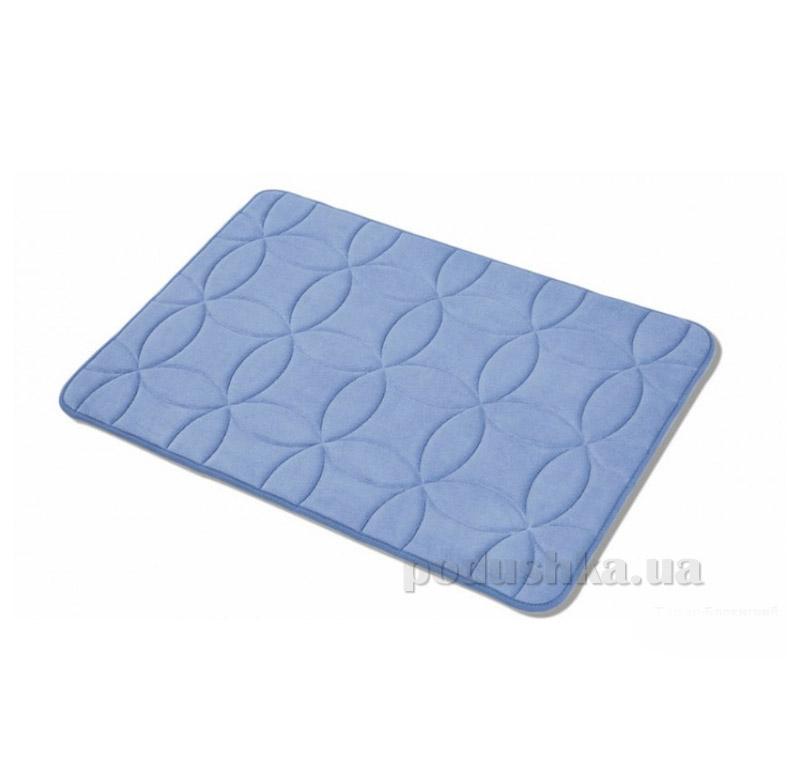 Коврик в ванную комнату Arya TR1001626 Krit темно-голубой