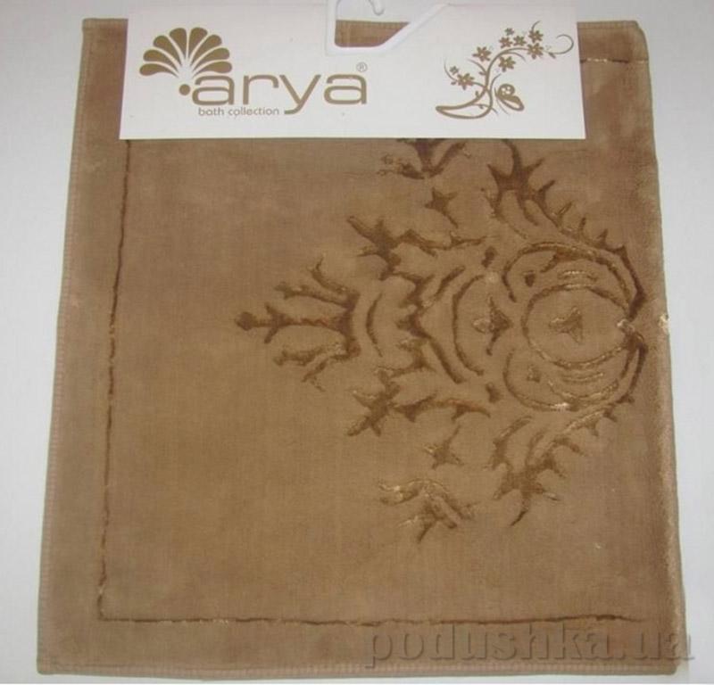 Коврики для ванной в наборе Zambak Arya 1380044 коричневые