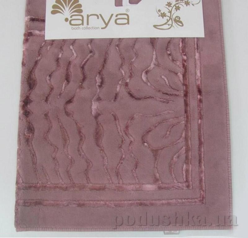 Коврики для ванной в наборе Zebra Arya 1380045 темно-розовые
