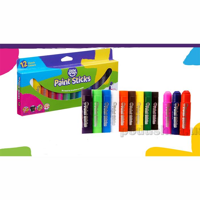 Краска-карандаш Paint Sticks classic 12 шт в наборе LBPS10CA12