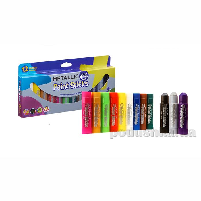 Краска-карандаш Paint Sticks metallic 12 шт в наборе LBPS10MA12