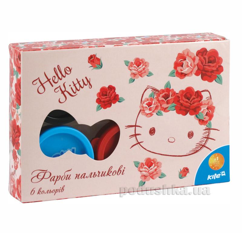 Краски пальчиковые 6 цветов Kite Hello Kitty HK15-064K