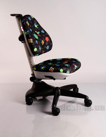 Кресло детское Y-317 GB обивка черная с жучками Mealux
