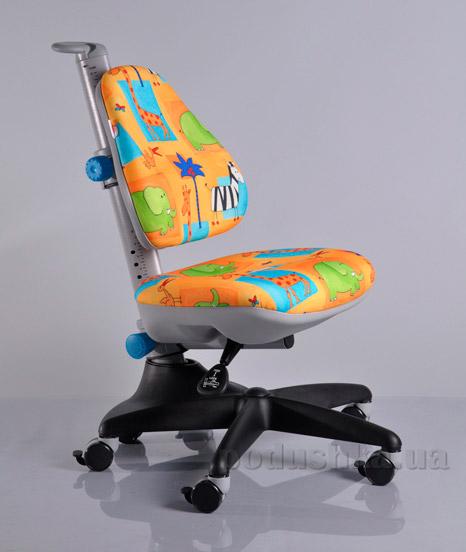 Кресло детское Y-317 GR1 обивка желтая со зверятами Mealux