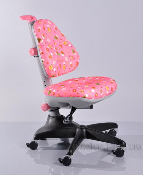 Кресло детское Y-317 PN обивка розовая со зверятами Mealux