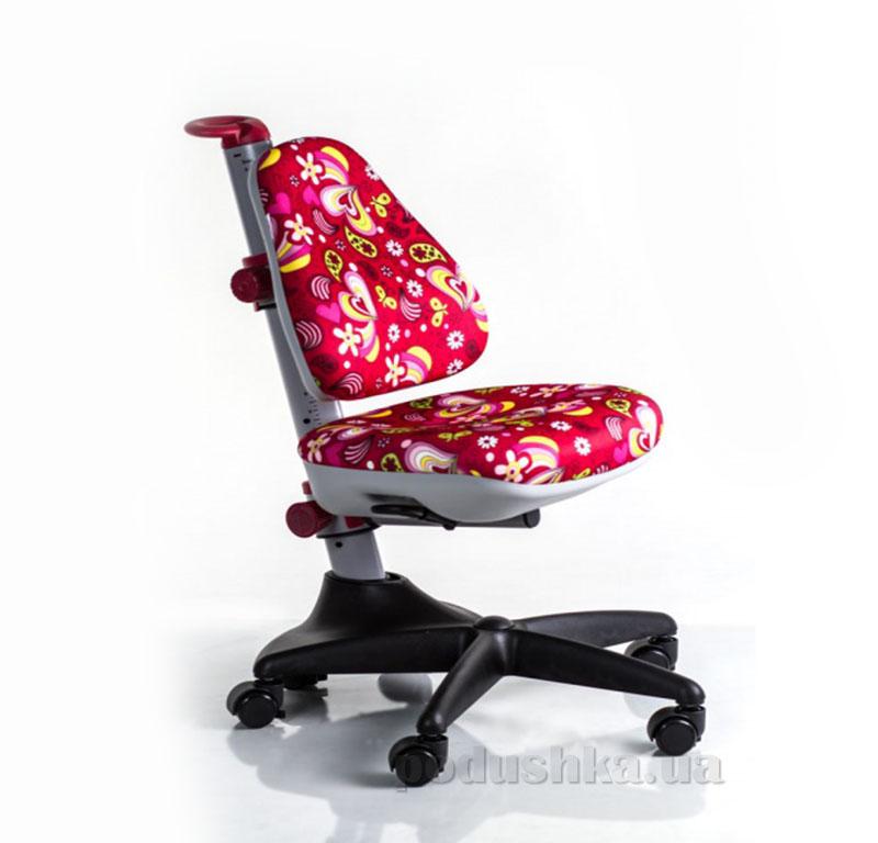 Кресло Mealux Y-317 RZ обивка красная с цветочками