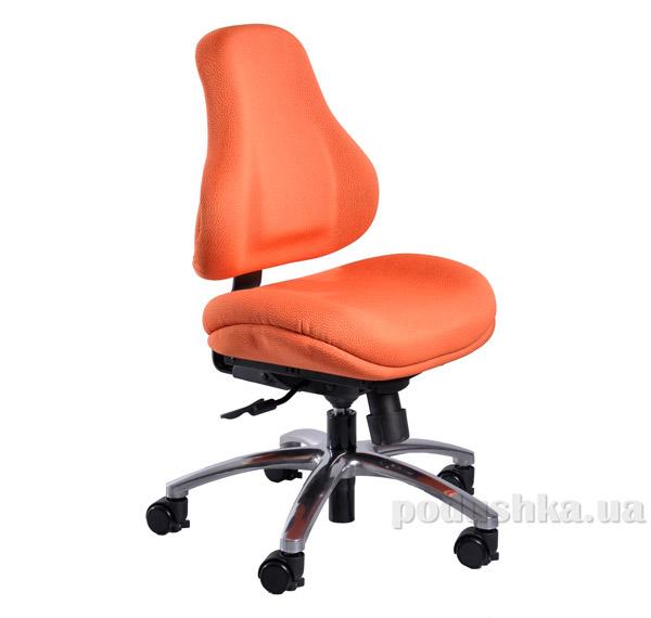 Кресло ортопедическое с эффектом памяти Y-128 OR обивка оранжевая в точку Mealux