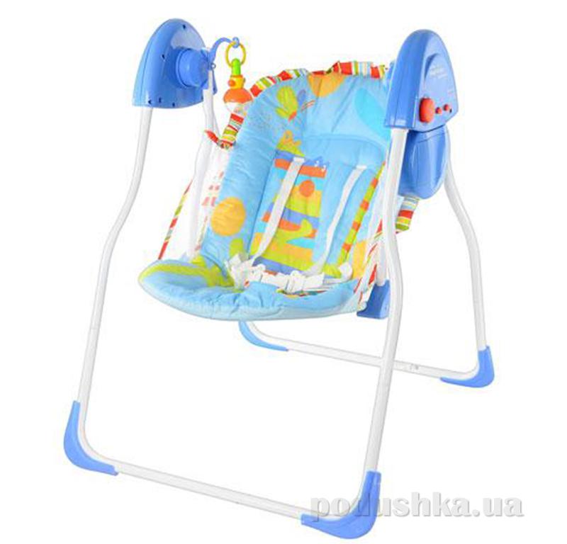 Кресло-качалка Bambi M 1541-2 Синяя