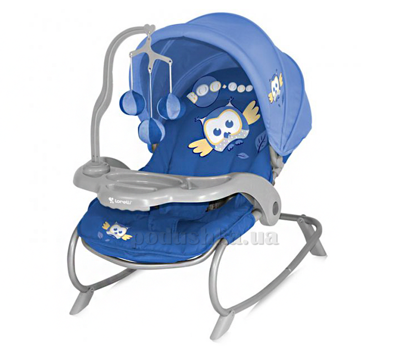 Кресло-качалка Bertoni Dream Time Blue Baby Owl