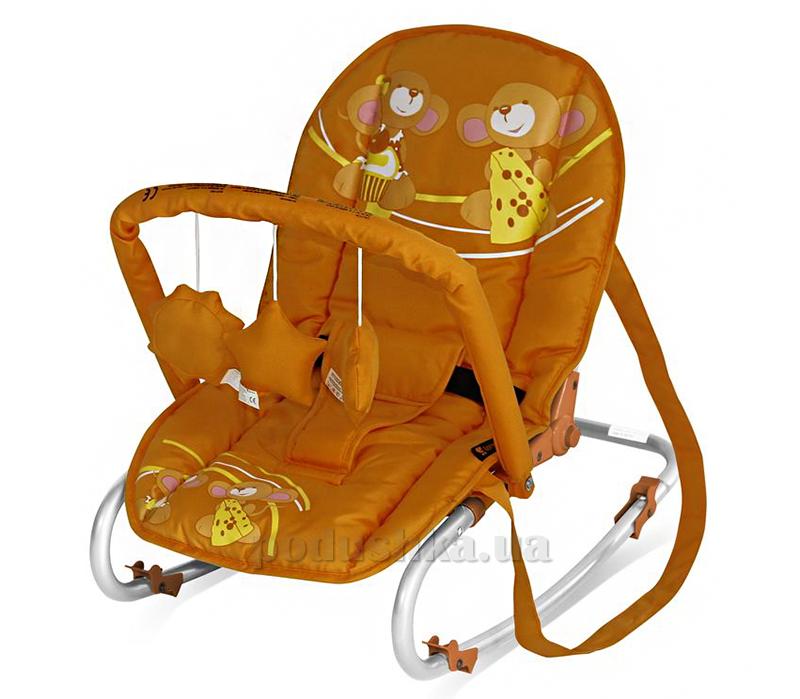 Кресло-качалка Bertoni Top Relax with Toy Orange Mice