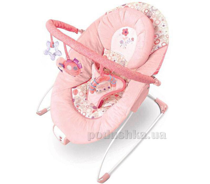 Кресло-качалка розовое Цветистые сны Kids II