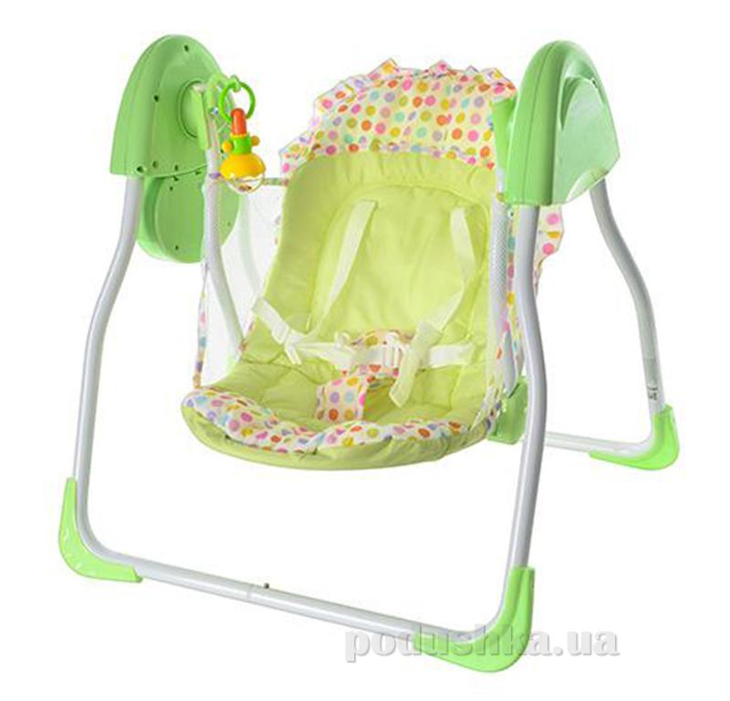 Кресло-качели Bambi M 2128 Зеленые