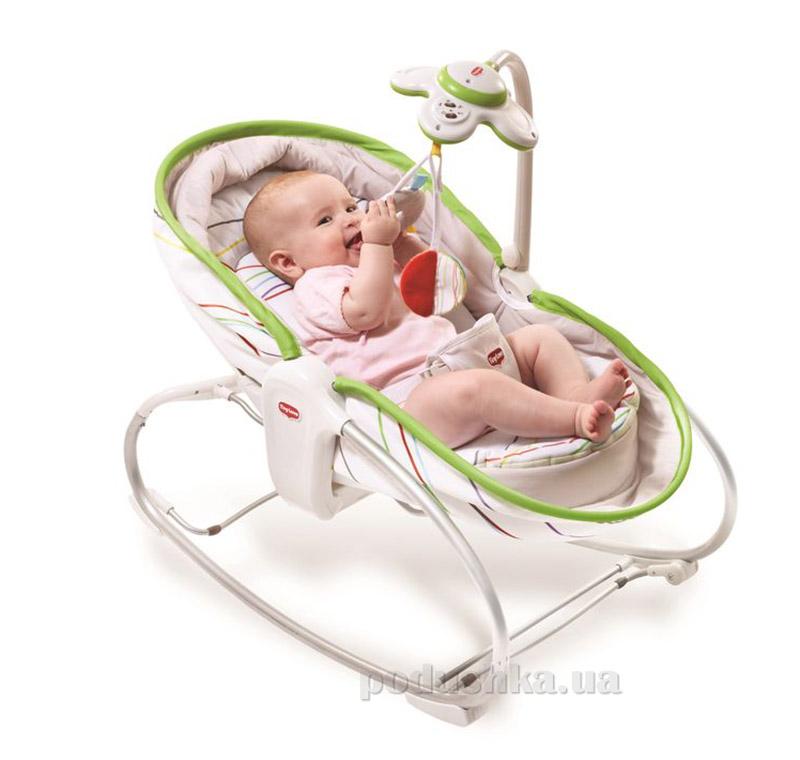 Кресло-кроватка-качалка 3 в 1 Мамина любовь Tiny Love белая