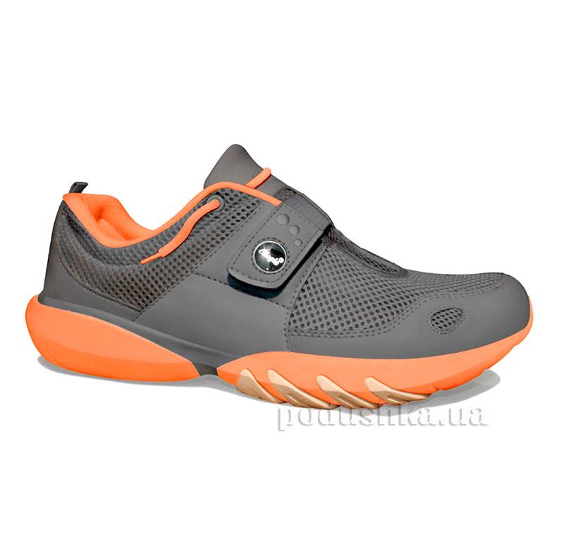 Кроссовки Classic Charcoal-Neon Orange Glagla 122058