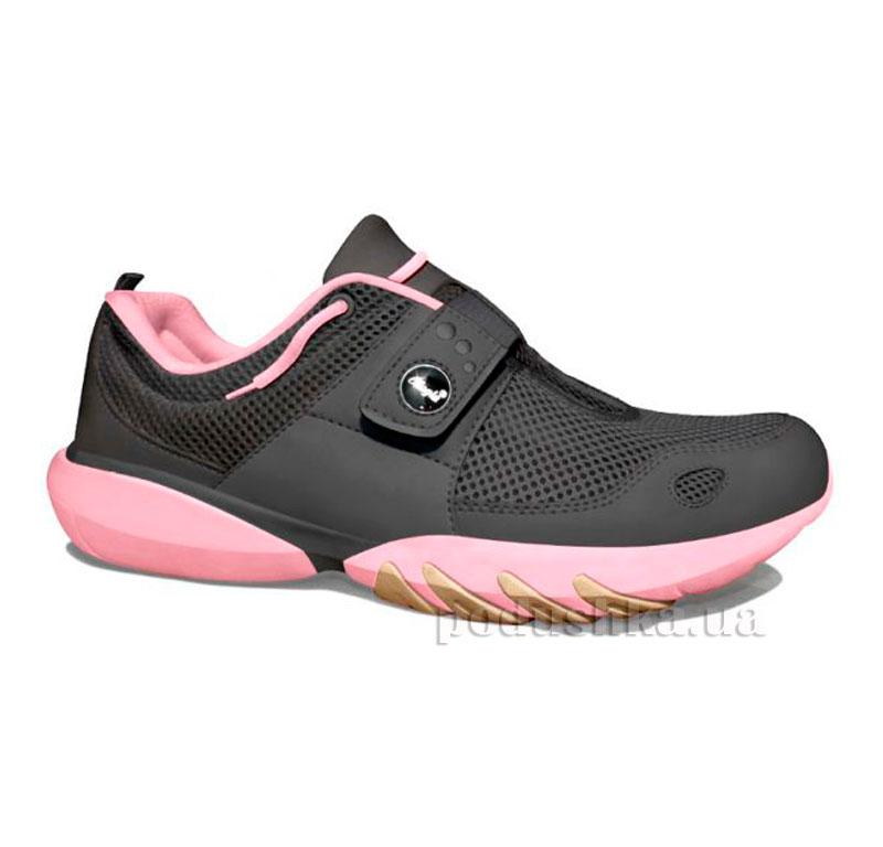 Кроссовки Classic Charcoal-Pastel Pink Glagla 122060
