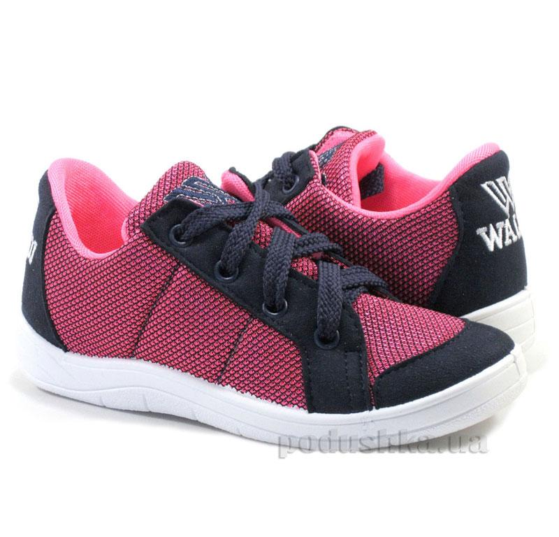 Кроссовки подростковые Waldi 194/209-495 сине-розовые