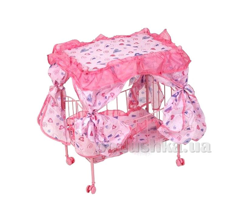 Кровать для куклы Lovely Baby 9350