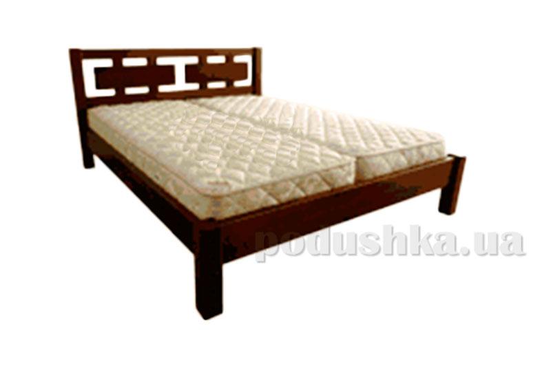 Кровать из массива ольхи Акант Агата