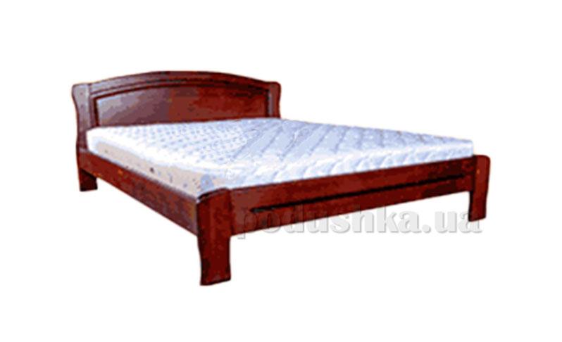 Кровать из массива ольхи Акант Эдельвейс