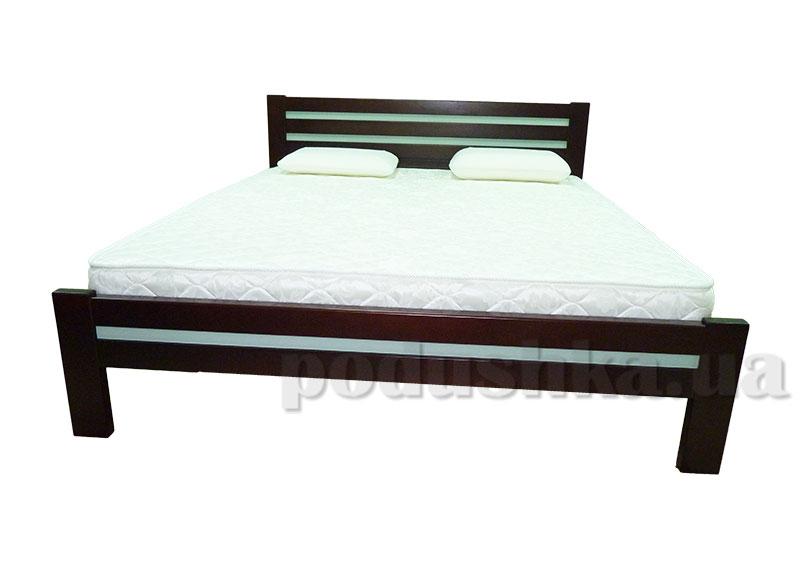 Кровать из массива ольхи Акант Кристалл