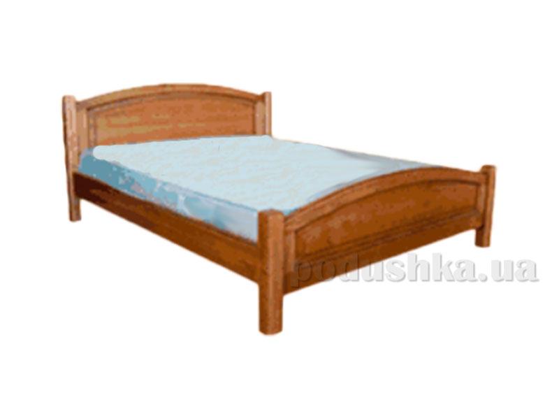 Кровать из массива ольхи Акант Женева-2